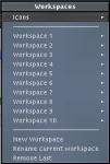 Ten Workspaces on fluxbox